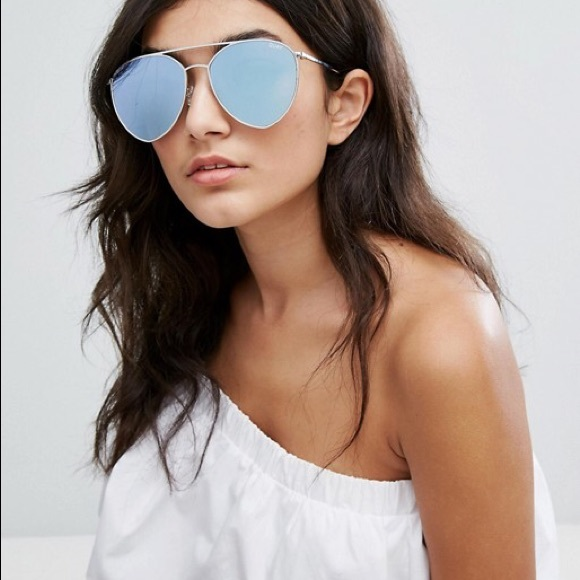 4652e7671bab Quay x Jasmine Indio Oversized Mirrored Sunglasses